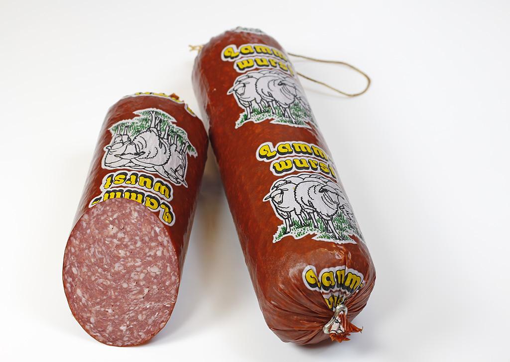 Lammettwurst / Salami-Art ca. 200 Gramm Stück