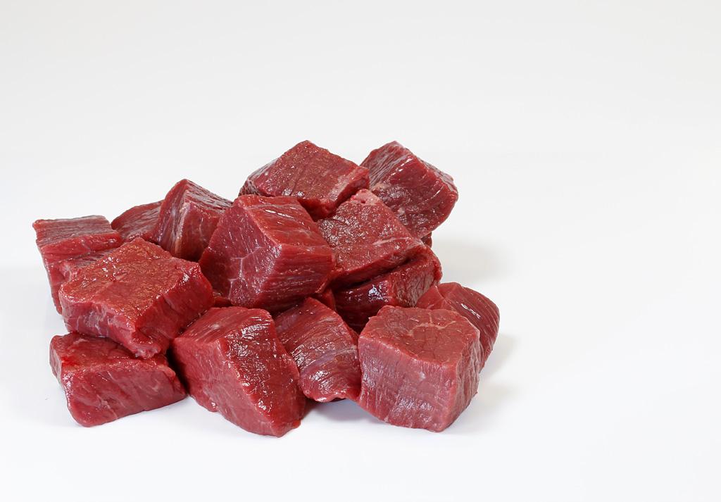 Rindergulasch vom Weiderind, 1 kg